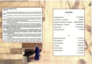 PROGRAMA ORQUESTA SINFÓNICA ALCOYANA